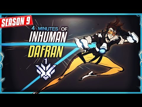 4 MINUTES OF DAFRAN'S INSANE TRACER !! [SEASON 9]
