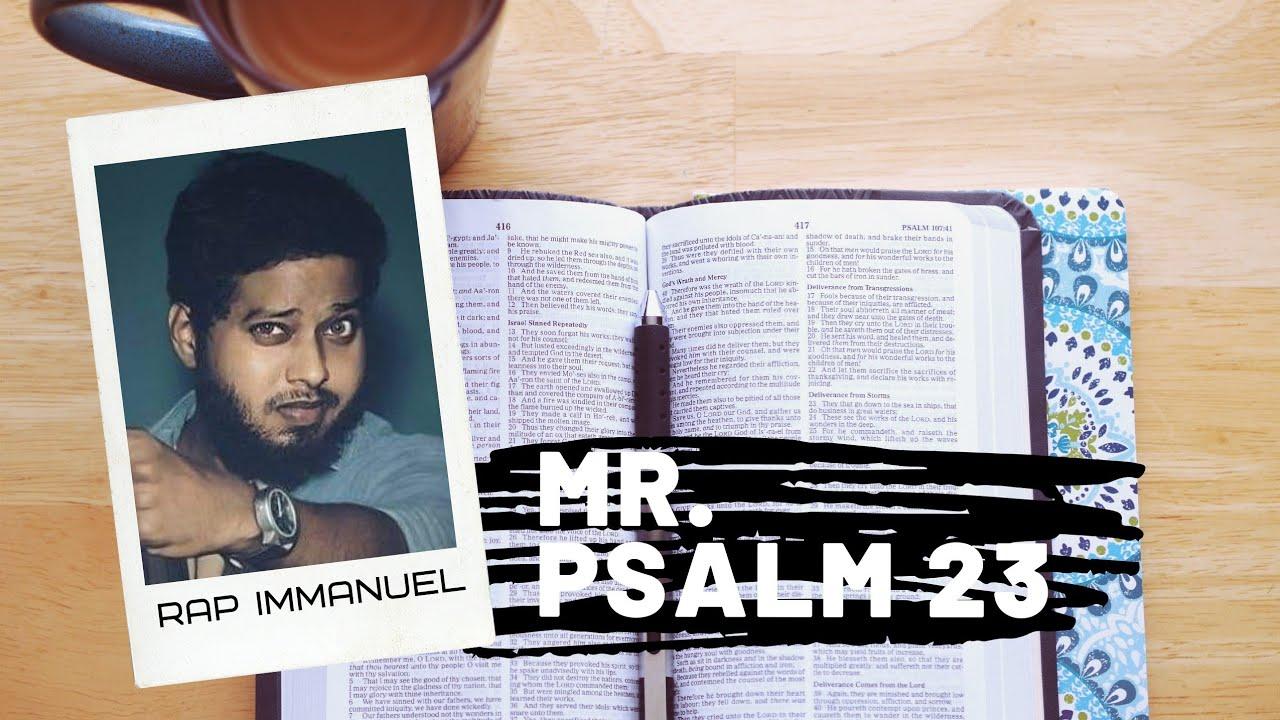 Download Mr.Psalm 23 | Rap Immanuel