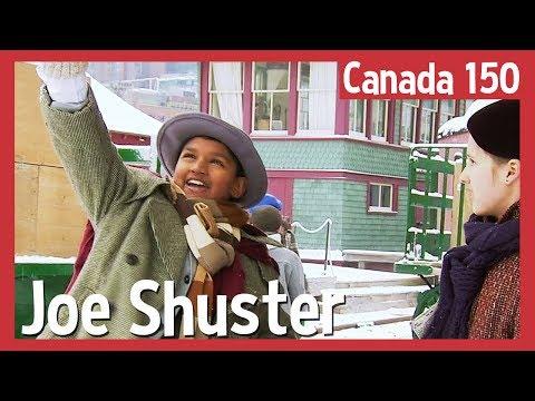 Célébrons notre histoire  Joe Shuster