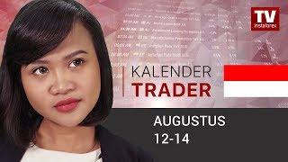 InstaForex tv news: Kalender Trader untuk Augustus 12 - 14: Mencari bukti haluan dalam ekonomi global