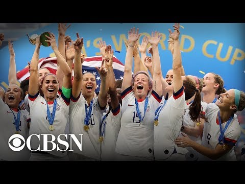 U.S. Women's Soccer World Cup Victory Parade NYC, live stream