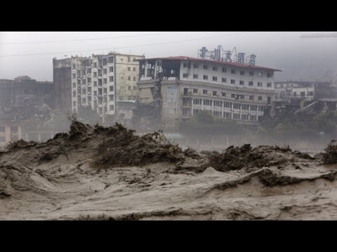 В Китае наводнение