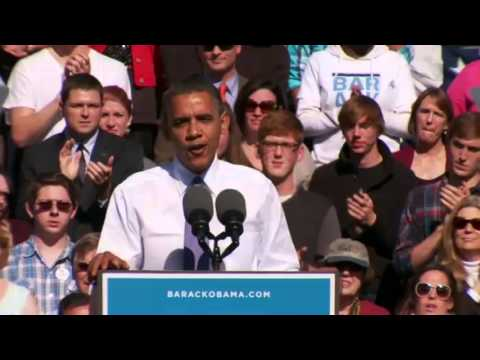 President Obama in New Hampshire - Full Speech 10/18/2012
