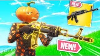 Fortnite New update and the first Victory Royale (Team Terror ) Heavy AR