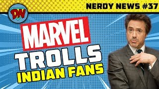 Avengers 4 Trailer Release, Russo Brothers QnA, Marvel Trolls, Hellboy  Nerdy News #37