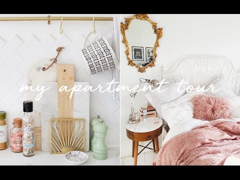 My Apartment Tour! // KATE LA VIE