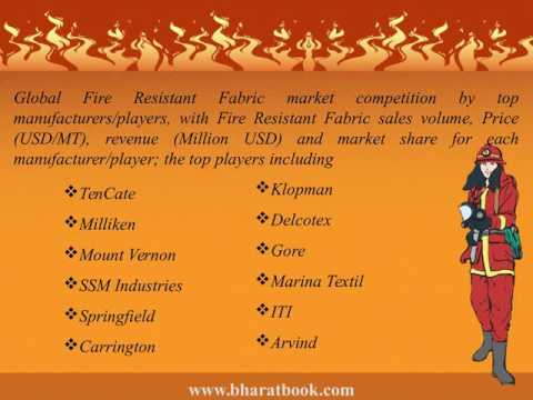 Global Fire Resistant Fabric Sales Market