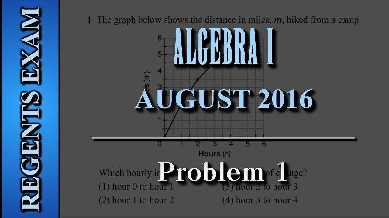 regents exam algebra i common core august 2016. Black Bedroom Furniture Sets. Home Design Ideas