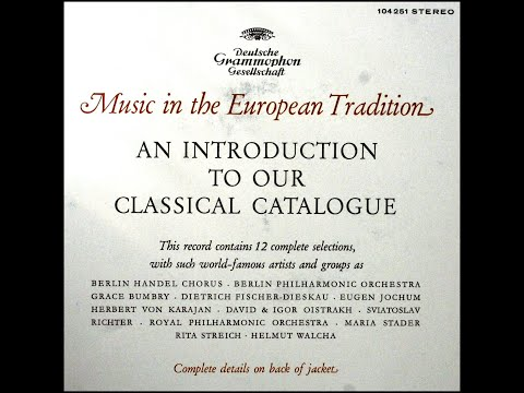 Deutsche Grammophon, 1964: An Introduction to Our Classical Catalogue - DG 104 251 - Complete