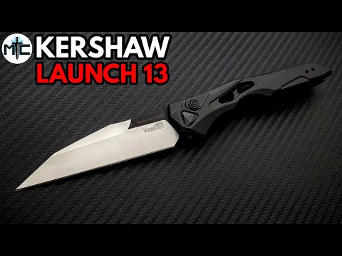 Kershaw Launch 13 Automatic Knife – Overview and Review