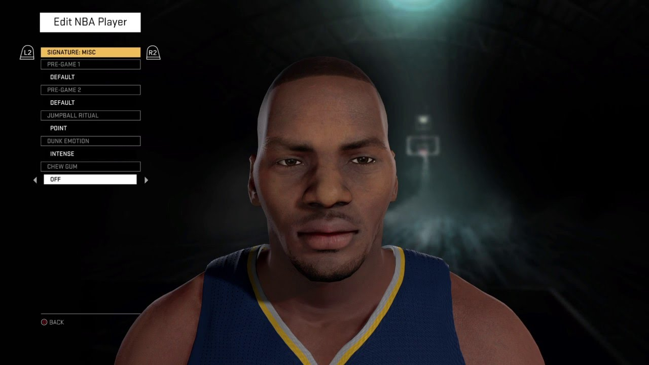 NBA 2K16 Chuck Person The Rifleman