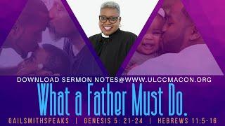 ULCC Father's Day Worship Celebration 062120