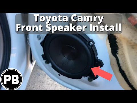 hqdefault 1997 2001 toyota camry front speaker replacement youtube