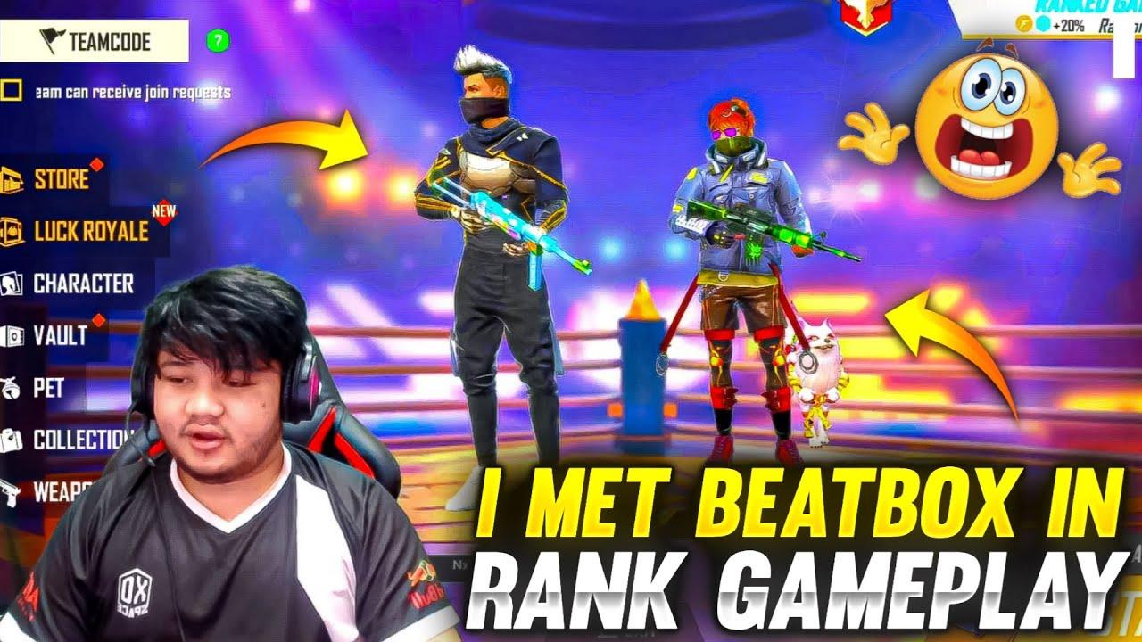 Download I Meet Beatboxer😯😯 In Random Rank Gameplay -Shocking Reaction  Garena Freefire