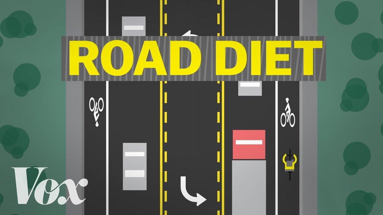 Road diets: designing a safer street