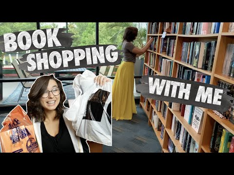 Come Book Shopping With Me (and haul)
