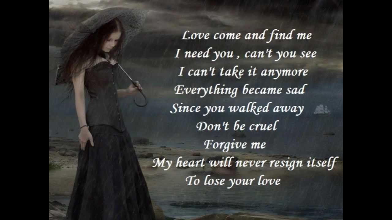 Amor Venme A Buscar lyrics by Il Divo - original song full ...