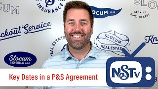 NSTV | Key Dates In A Purchase And Sales Agreement