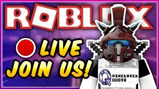 🔴 Roblox: Playing w/ Viewers! Come Join Us! 🔴 Playing Jailbreak, Prison Royale, and More!