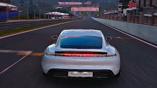 Gran Turismo Sport - Gameplay Porsche Taycan Turbo S @ Spa-Francorchamps [1080p 60fps]