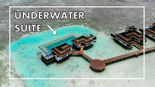 Aqua Villa Tour (with AMAZING UNDERWATER BEDROOM) ...