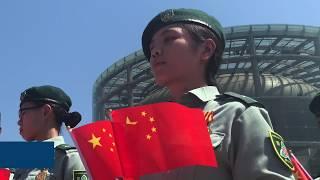 HKSAR, Shenzhen teens send best wishes to the nation