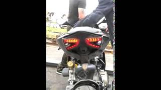 Ducati 1199 Panigale E Code Smoked Rear Light Taillight