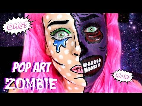 Pop Art Zombie Makeup || NYX FACE AWARDS NL 2016 ENTRY