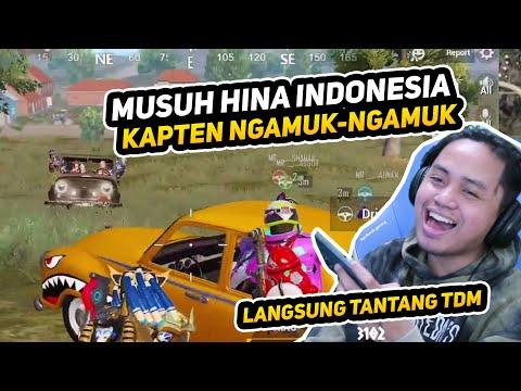 MUSUH HINA INDONESIA, KAPTEN LANGSUNG NGAMUK. DITANTANG TDM, TAPI ENDINGNYA MALAH GINI