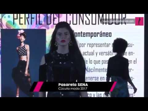 Pasarela SENA Cúcuta Moda 2017