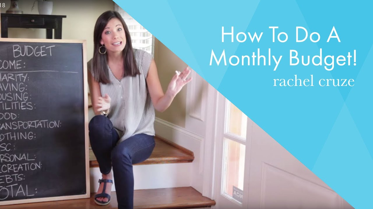 How To Do A Monthly Budget!