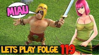 """Clash of Clans Deutsch   Folge 119. """"600 bogenschützen"""" Let´s Play"""