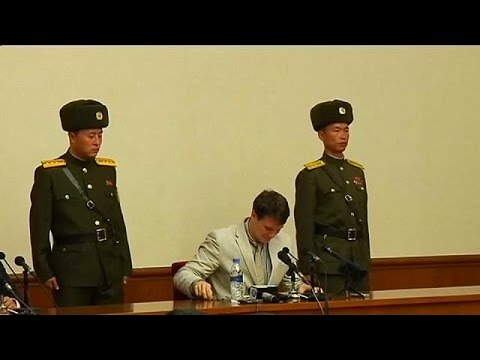 US student Otto Warmbier returned from North Korea has severe brain injury An American university stud