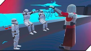 Игра Ravenfield - Star Wars Hoth REMASTERED . Игры для слабых пк