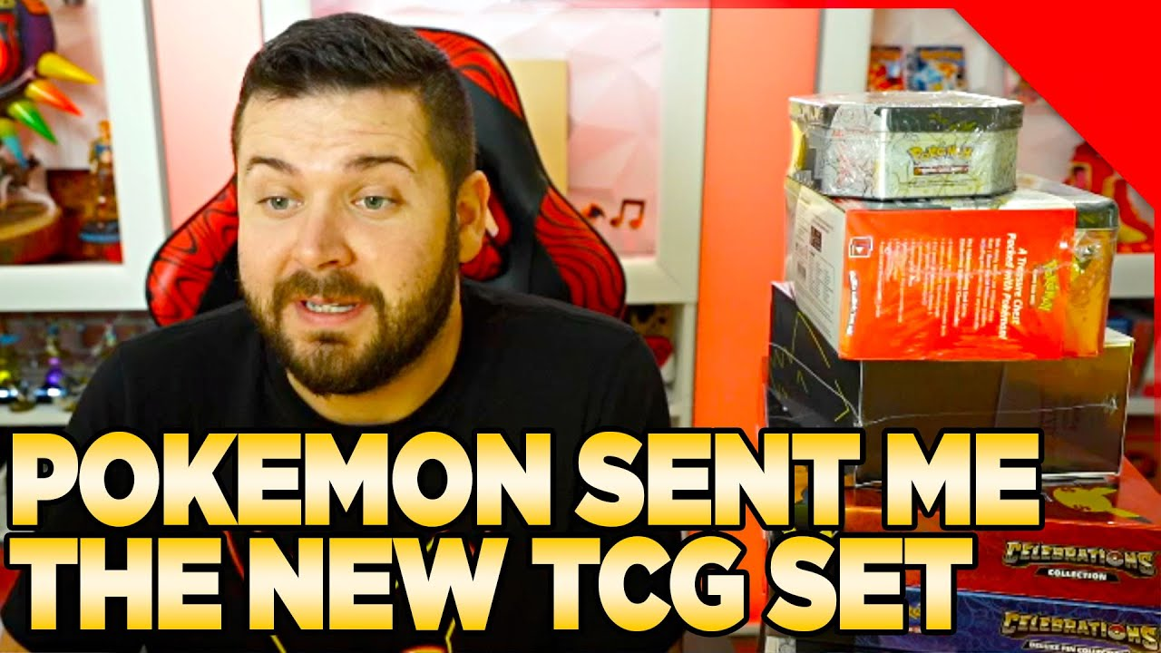 The Pokemon Company Sent Me Their New TCG Set: Celebrations!