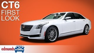 2016 Cadillac CT6 First Look | New York Auto Show