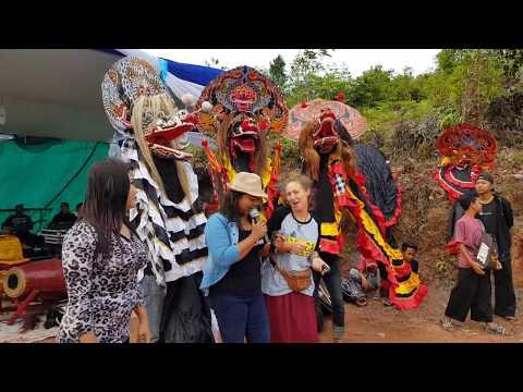 Jaranan Sri Joyo Buntoro Batam, show di Jembatan 4 Barelang - Tembang Tresno 'Nella Kharisma'