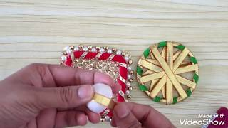 Gambar cover Very beautiful and simple Wall hanging|Shubh labh wall hanging|Diwali special Decoration|home decor