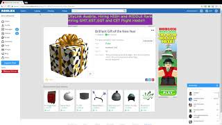 Roblox Getting Lots Of Robux! (MERRY CHRISTMAS GUYS! :) )