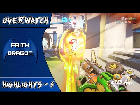 Everybody hates Bastion & Girl Powers - Overwatch Highlights #04