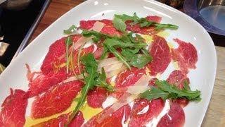 Carpaccio vom Rind - Italienische Kochschule