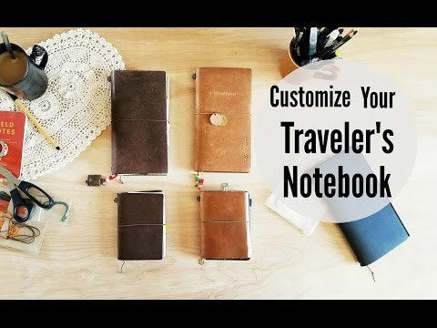 5 Ways To Customize Your Traveler's Notebook