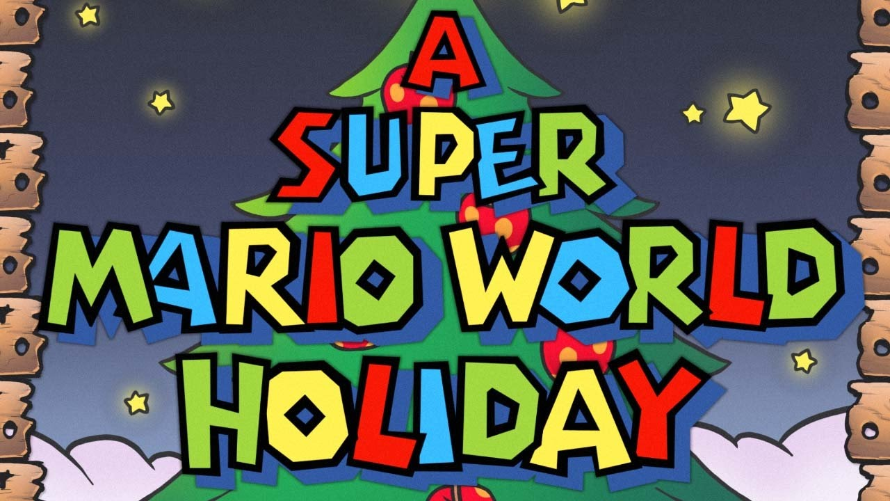 Super Mario World Christmas.A Super Mario World Holiday Full Album Larryinc64