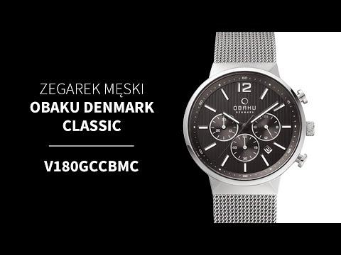 Zegarek Obaku Denmark Classic  V180GCCBMC | Zegarownia.pl