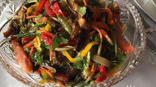 Вкуснейший овощной салат