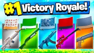 RANDOM WEAPON SKIN CHALLENGE SU FORTNITE!!