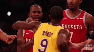 Houston Rockets release video of Rajon Rondo and Chris Paul