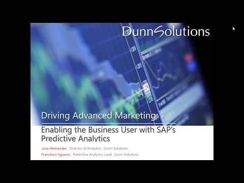 Driving Advanced Marketing with Predictive Analytics
