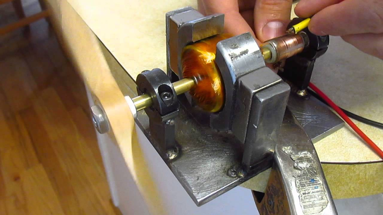 how to make a homemade electric motor