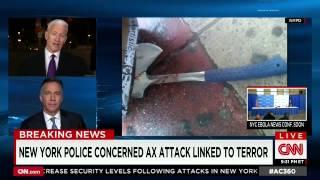 CNN: NYC Hatchet Attacker Was